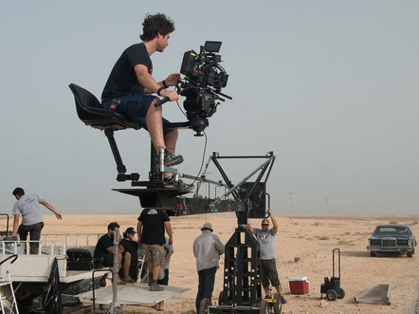A Digital Film Production in Qatar: Photo by Resolution Hire via Wikimedia Commons
