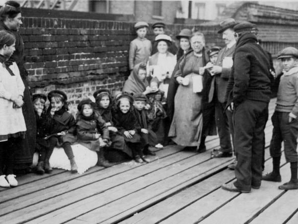 Courtesy of Gateways: Belgian refugees in Folkestone, Kent, 1914