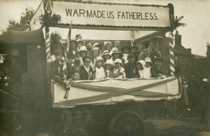 Courtesy of the Library of Birmingham: War made us fatherless