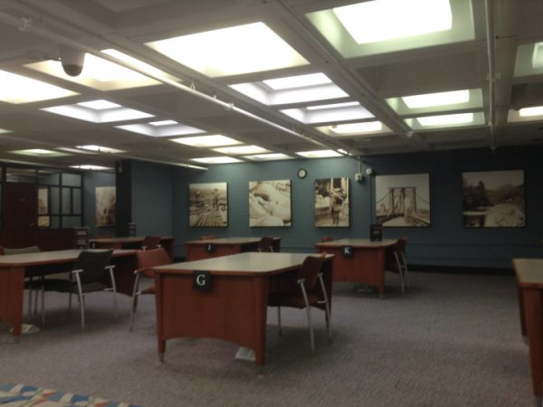 Research Room in an Archive Facility