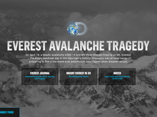Everest Avalanche Tragedy