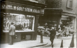 A Jewish Butcher Shop in the East End c.1930s