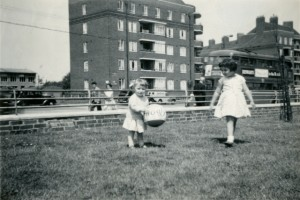 Playing on the Woodberry Down Estate