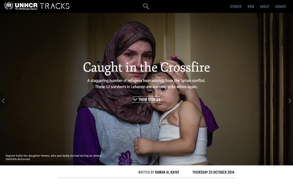 UNHCR Tracks